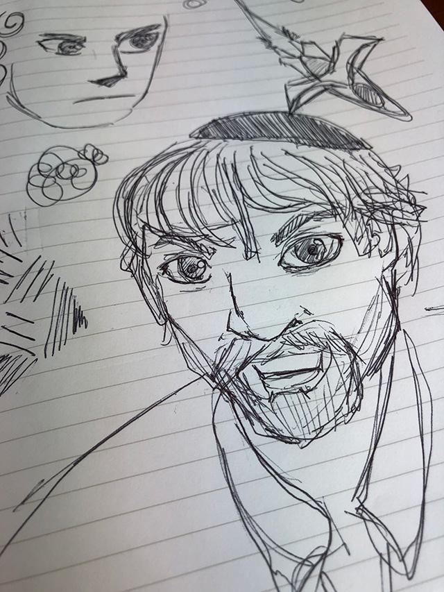 Barry Schwartz Sketch