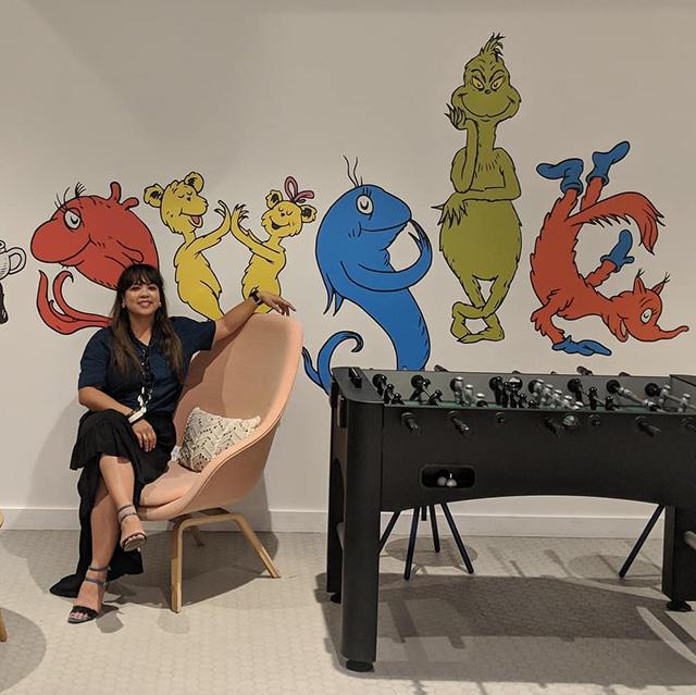 Google Dr. Seuss Room