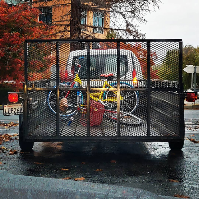 Hauling Google Bikes
