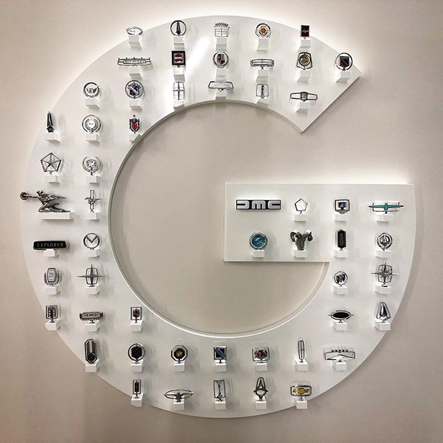 Google Detroit Car Emblems