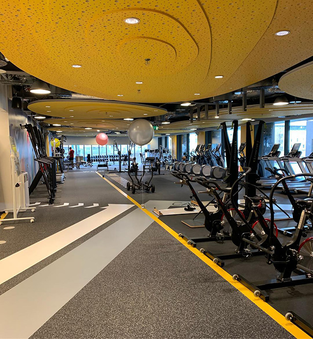 Google Dublin Opens New Gym
