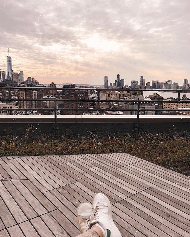 Google NYC Deck View