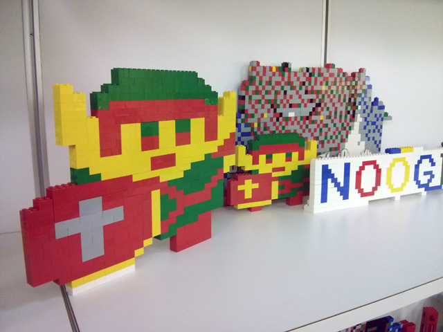 Items From Google s Lego Station In NYC Google s NYC Lego Station
