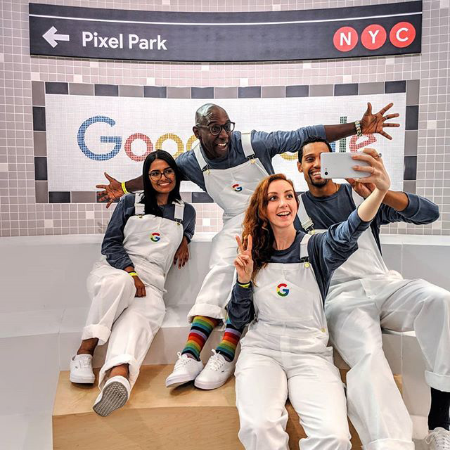Google Branded Overalls