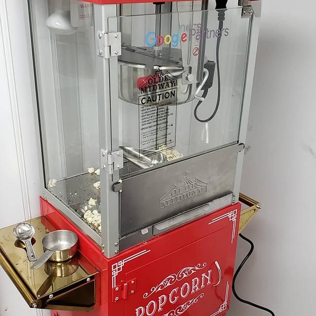 Google Popcorn Machine