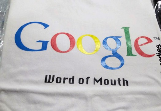 Google Word Of Mouth T-Shirt