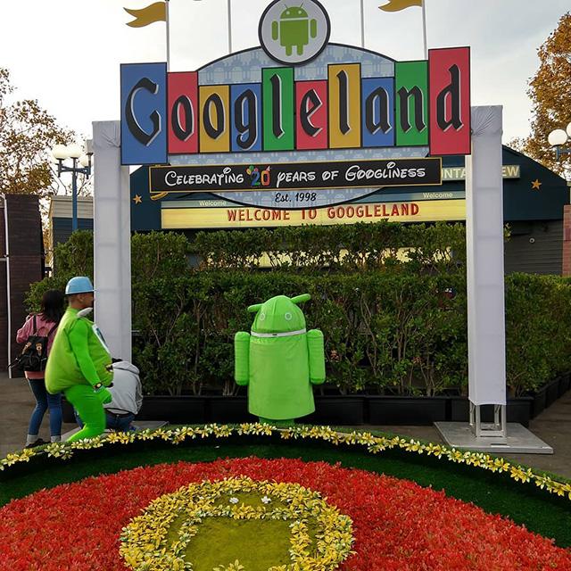 Googleland on Googleween