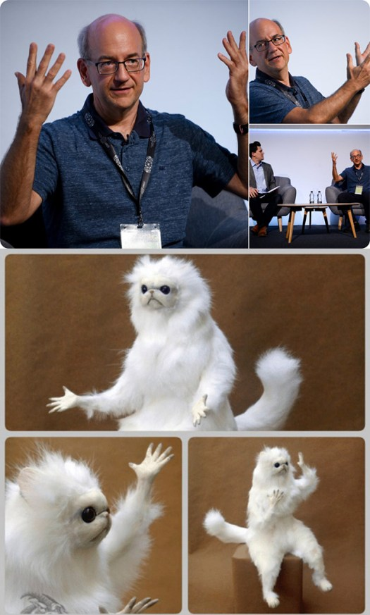 John Mueller Speaking & Persian Cat Speaking