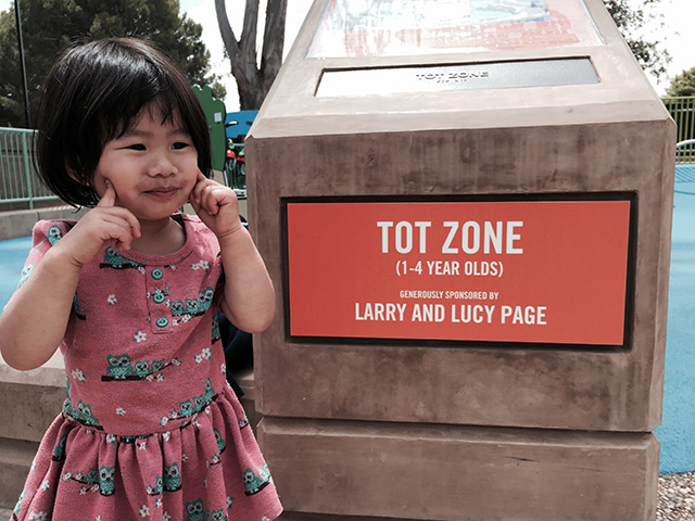 Larry & Lucy Page Tot Zone At Mitchell Park