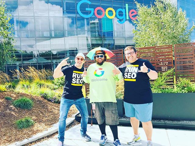 SEOs Meet Peter The Greeter At Google