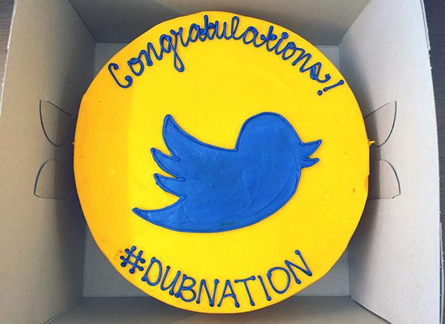 Golden State Warriors Championship Twitter Cake