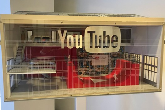 YouTube Space Replica