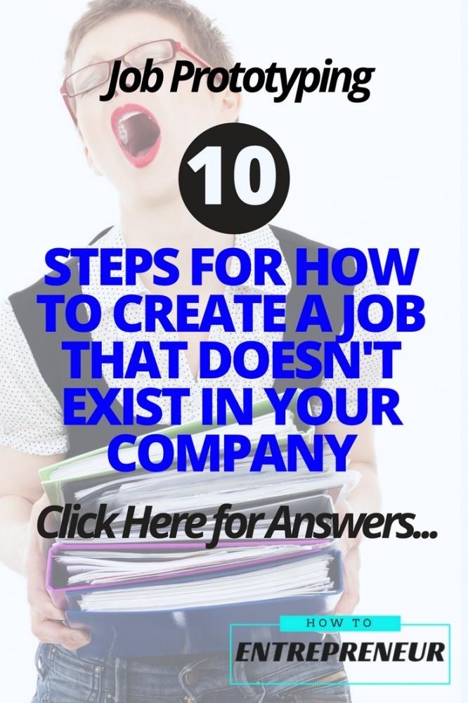 how to create a job