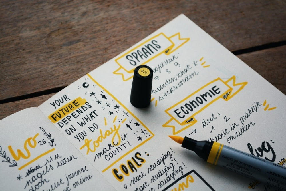 bullet journal ideas for entrepreneurs