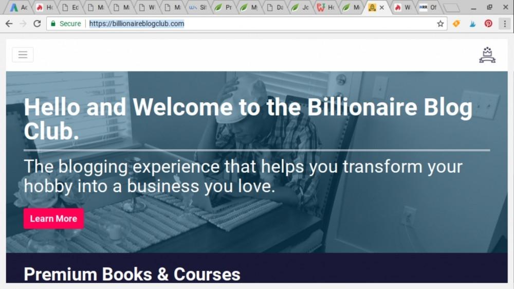 billionaire blog club review