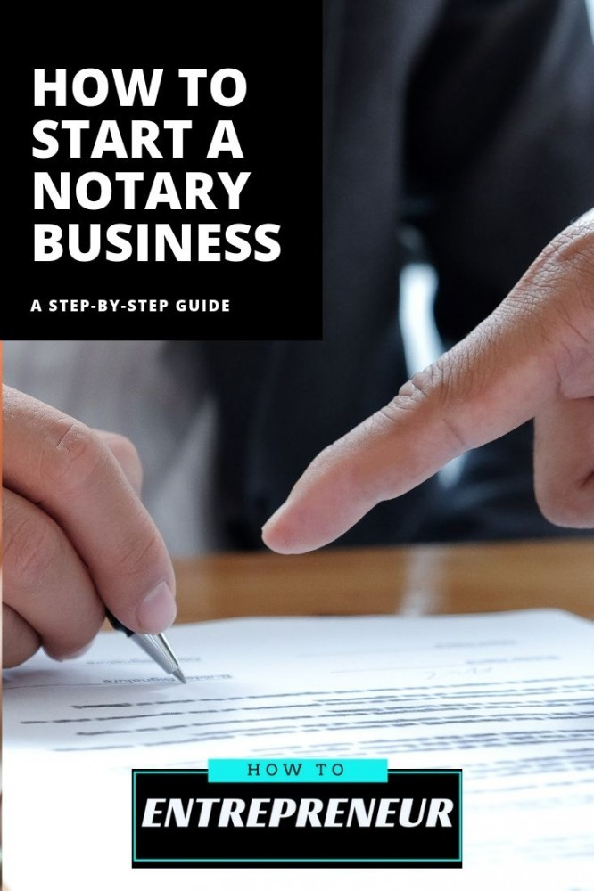 how to start a notary business
