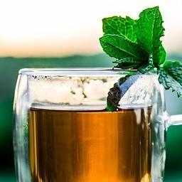A nice cup of herbal tea