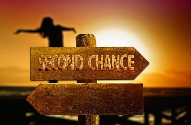Give yourself a second chance