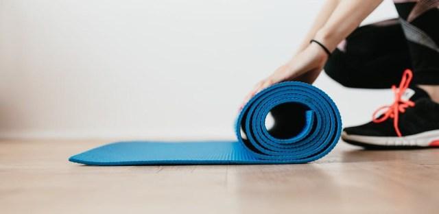 The yoga roll mat