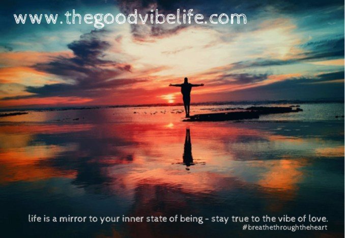 life is a mirror to your inner being