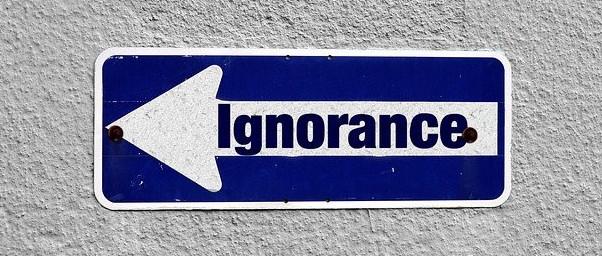 Speak up against ignorance