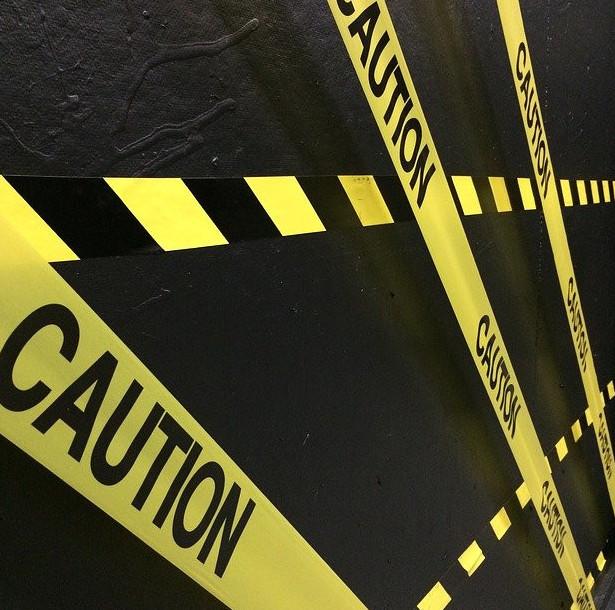 Caution tape files