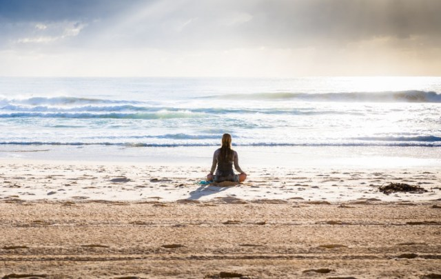Meditation yields a high vibration