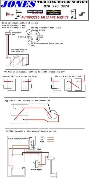 24 Volt Trolling Motor Wiring Diagram  impremedia