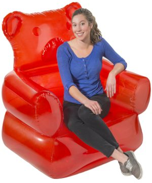 Gummy Bear Chair Candy Shaped Inflatable Furniture