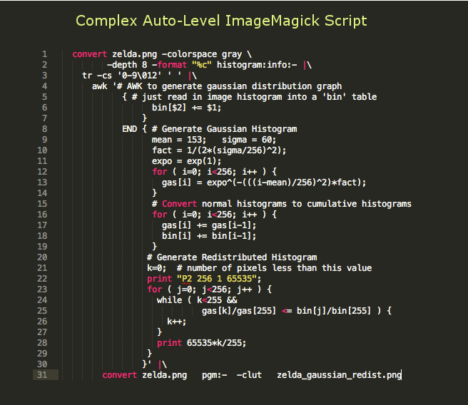 Complex Autolevel Script