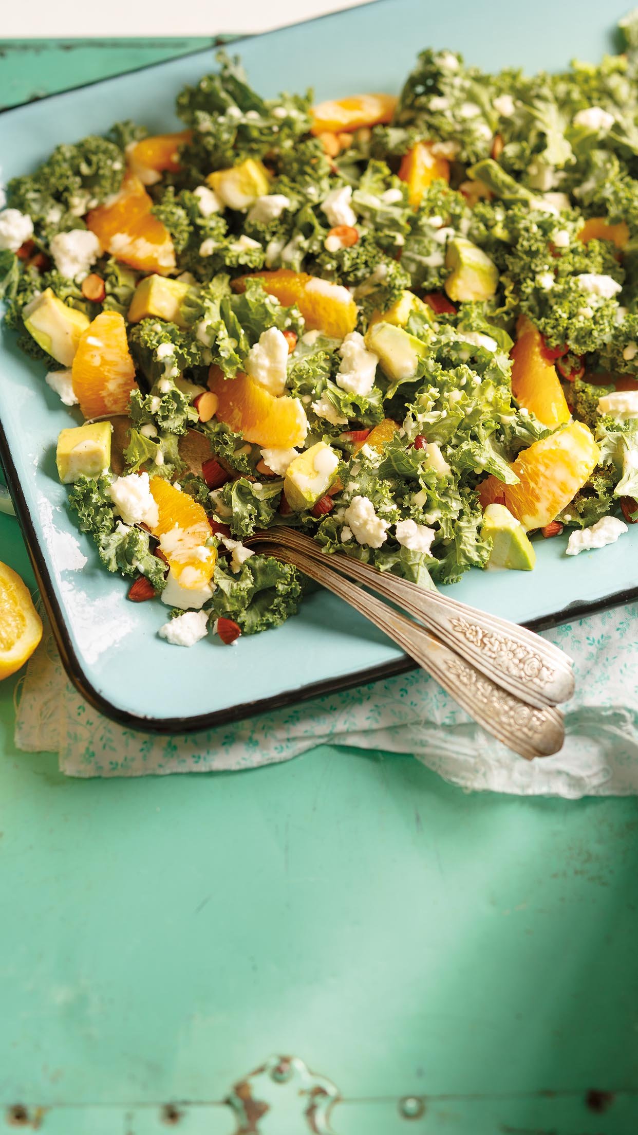 Citrus Kale Amp Avocado Salad