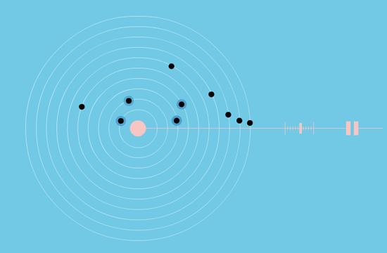 Solar system music box