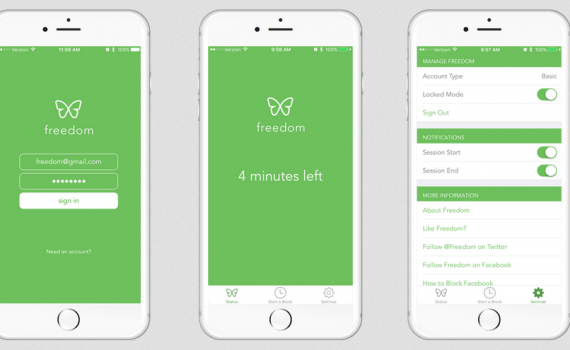 O Freedom é um app de produtividade perfeito para quem quer cronometrar o tempo de trabalho. Confira essa e outras dicas no post de hoje!