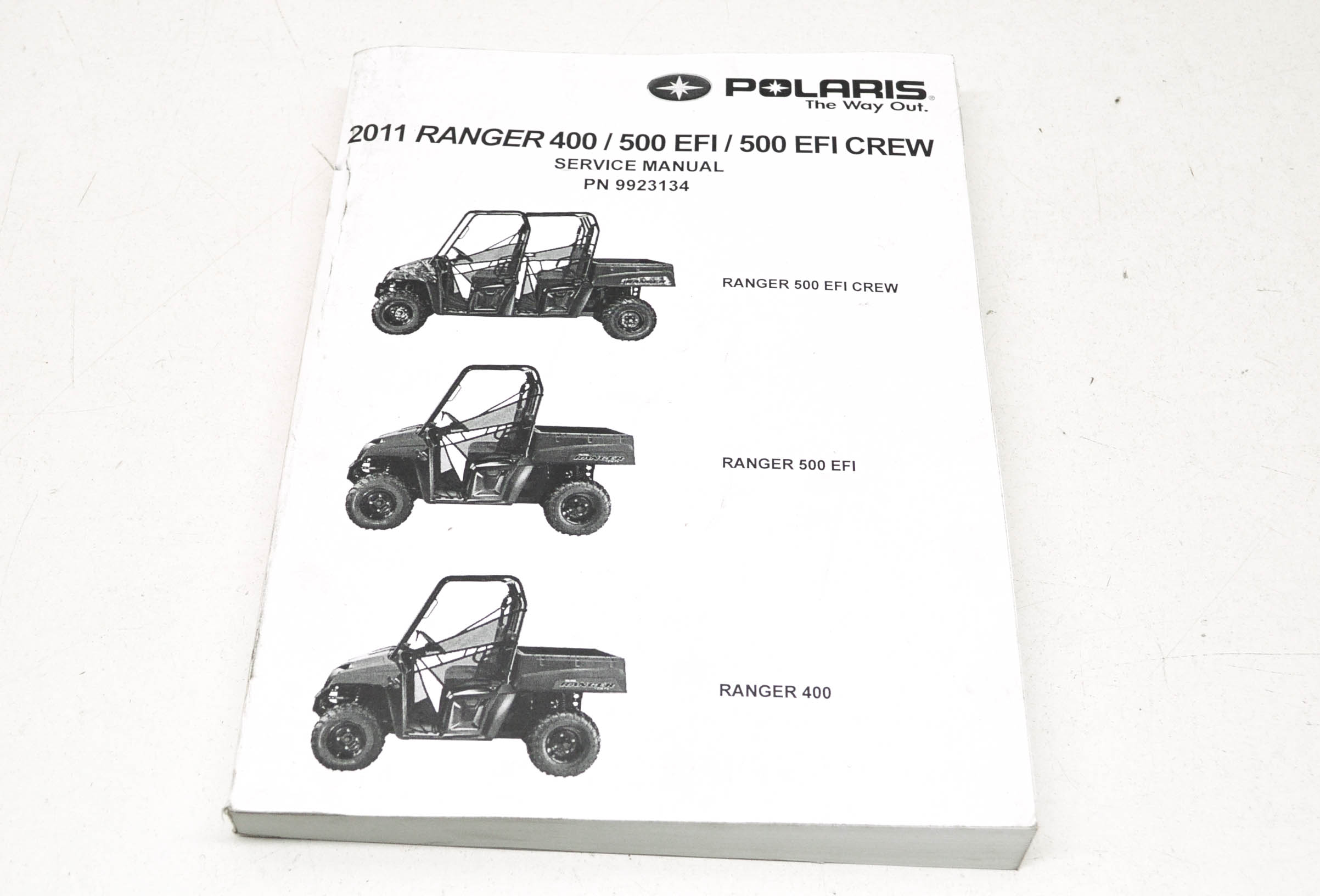 Oem Polaris Service Manual 12 Ranger 400 500 4x4