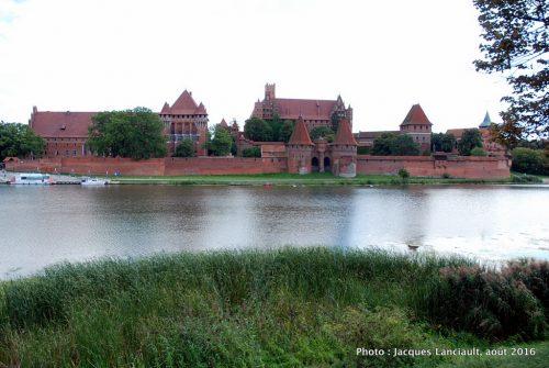 La forteresse de Malbork, Malbork, Pologne