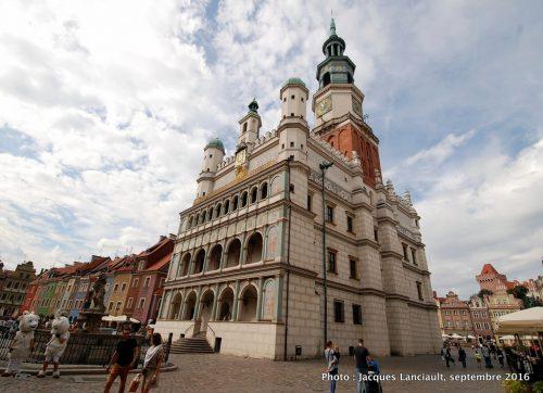 L'ancien Hôtel de Ville de Poznań, Pologne