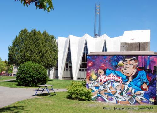 Murale, Cégep Marie-Victorin, Montréal, Québec