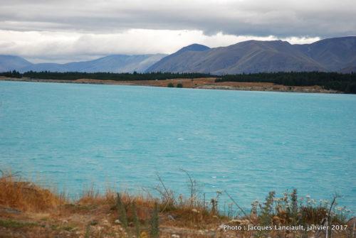 Lac Pukaki, Twizel, île du Sud, Nouvelle-Zélande