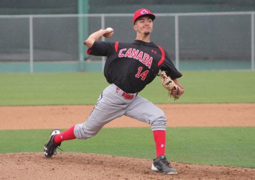 William Sierra, équipe nationale junior du Canada.