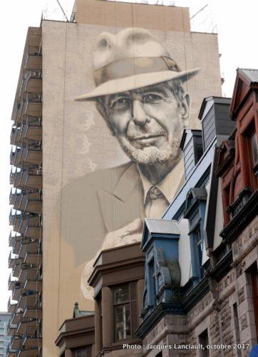 Leonard Cohen, El Mac et Gene Pendon, Montréal, Québec