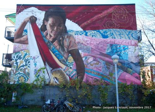 Cent motifs: un paysage2010, Montréal, Québec