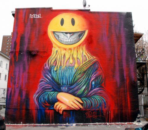 Sourire de Mona Lisa2017, Montréal, Québec