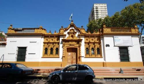 Museo Casa de Yrurtia, quartier Belgrano, Buenos Aires, Argentine