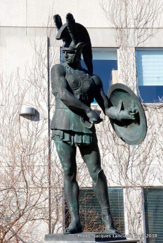 Guerrier samnite, Saint-Léonard, Montréal, Québec