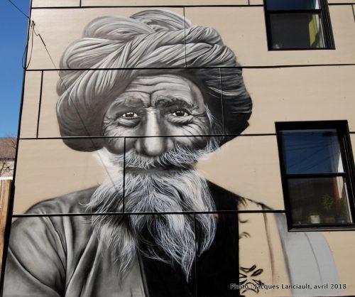 Portrait d'étranger, Verdun, Montréal, Québec