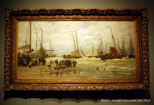 Prises de pêcheurs sur les brisants, Rijksmuseum, Amsterdam, Pays-Bas