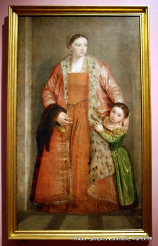 Portrait de la comtesse Livia da Porto Thiene et sa fille Deidamia, Rijksmuseum, Amsterdam, Pays-Bas