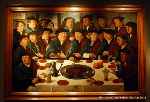 Le repas des archers, Hermitage Amsterdam, Amsterdam, Pays-Bas