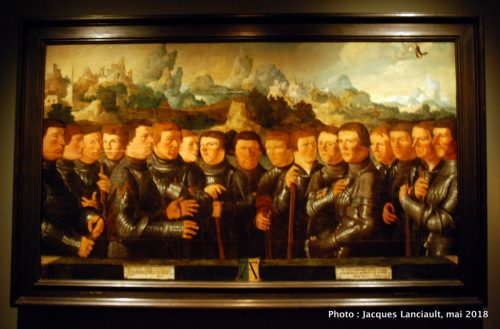 Civic Guardian of Squad A of the arquebusier, Hermitage Amsterdam, Amsterdam, Pays-Bas