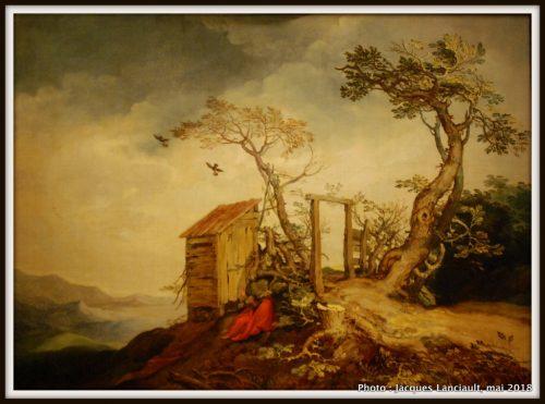 Paysage avec le prophète Élie, Hermitage Amsterdam, Amsterdam, Pays-Bas